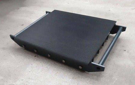 Stalmechon Wózek stały do transportu maszyn, urządzeń i sprzętu (rolki: 30x poliamid, nośność: 32 ton) 50276376