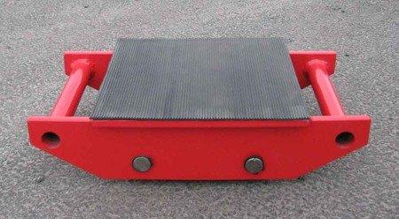 Stalmechon Wózek stały do transportu maszyn, urządzeń i sprzętu (rolki: 4x stal, nośność: 8 ton) 50276379