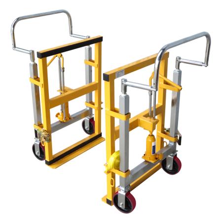 Transporter hydrauliczny (udźwig: 1800 kg) Komplet dwie strony z pasami, do przewozu szaf, mebli, generatorów, rozdzielni 310709