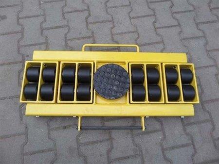 Wózek skrętny 16 rolkowy, rolki: 16x kompozyt (nośność: 22 T) 12267439