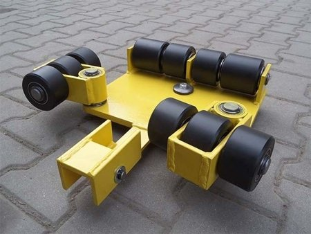 Wózek uniwersalny, rolki: 10x kompozyt (nośność: 7 T) 12267452