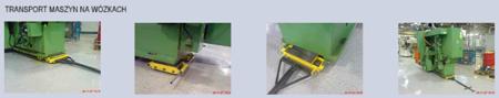 Zestaw wózków, rolki: 36x nylon (nośność: 32 T) 12235627